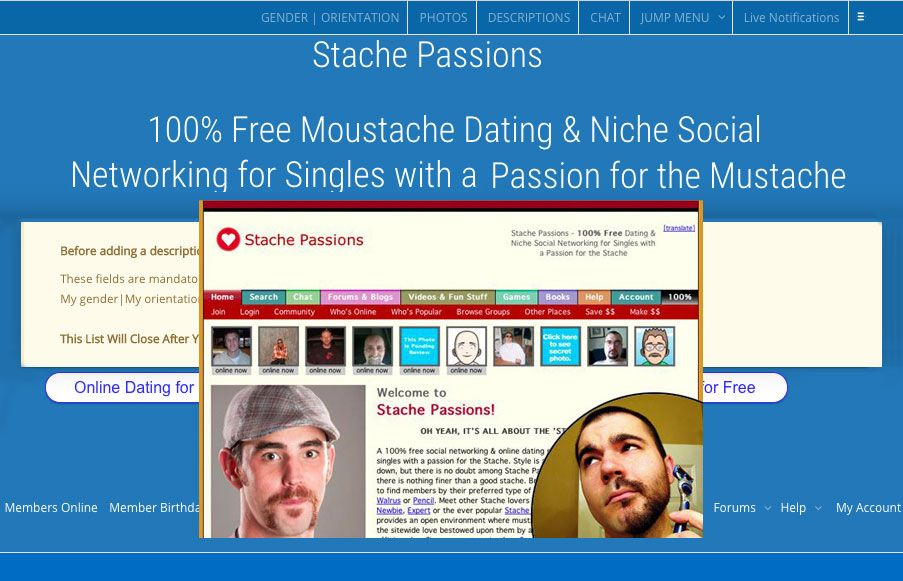 Online-Dating sozialen Websites