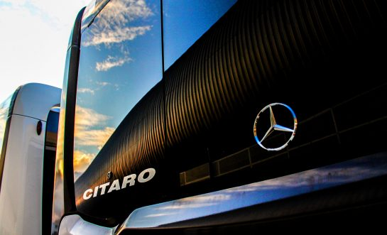 Electro bus from Mercedes-Benz and other news of the day