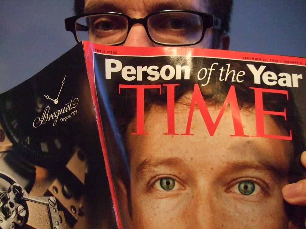 Марк Цукерберг — человек года по версии журнала Times в 2010 году