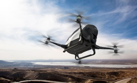 China invented the world's first passenger drones