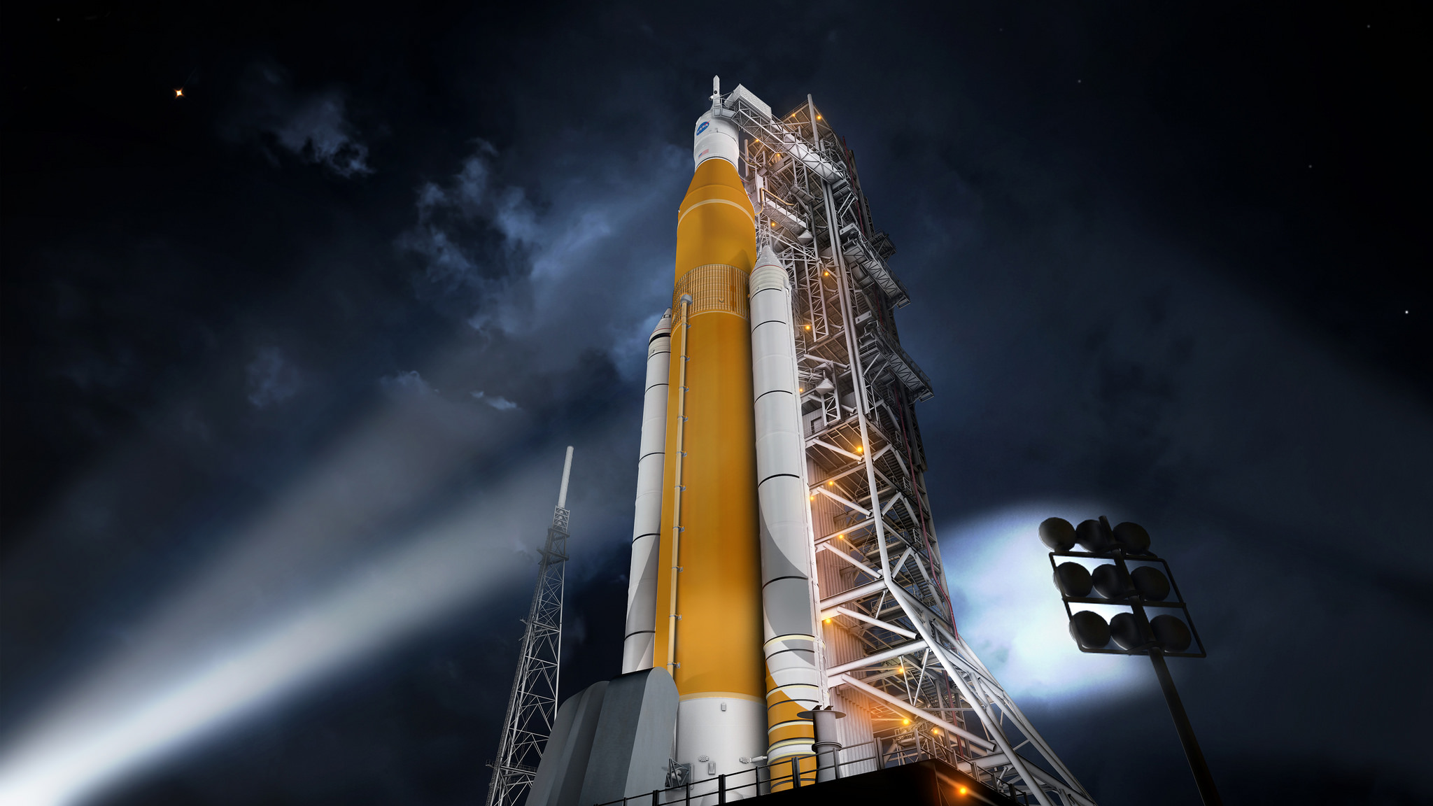 The development of missiles for flights to Mars and other news of the day
