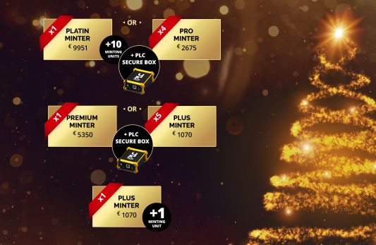 X-mas Promotion from PLATINCOIN