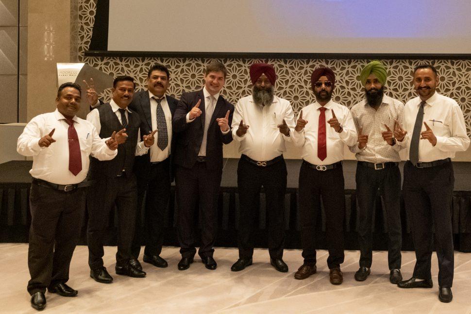PLATINCOIN leadership meeting held in Dubai on August 26