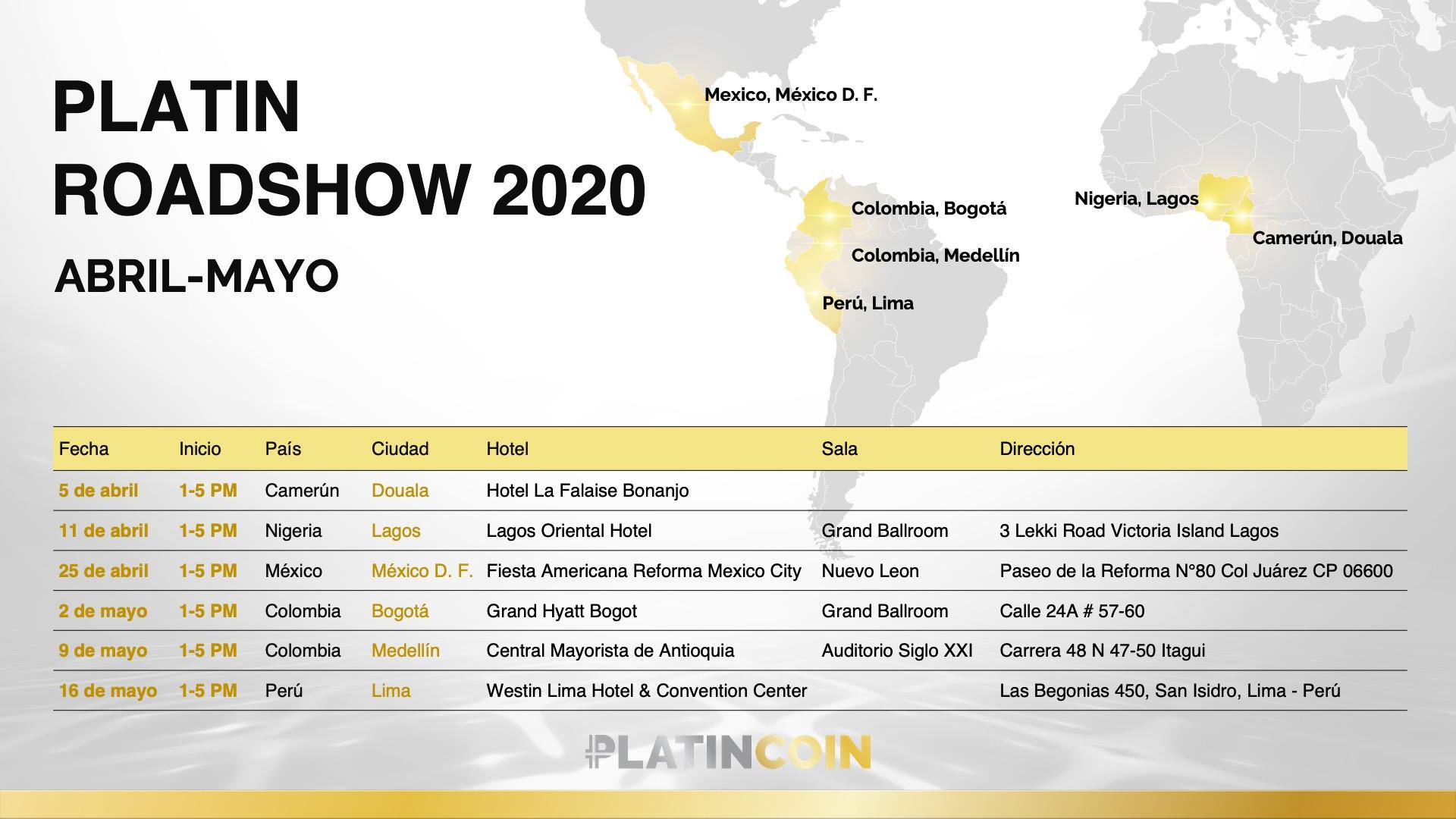 PLATINCOIN en América Latina y África: continúa la expansión mundial